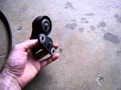 Fixing Squealing Air Conditioning Idler Pulley Belt