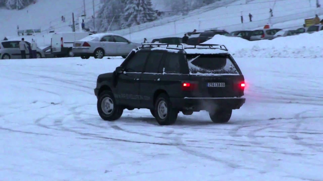 range rover p38 4 6 hse conduite sur neige et glace by rr evolution youtube. Black Bedroom Furniture Sets. Home Design Ideas