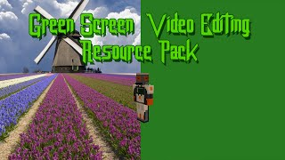[Resource Pack] Green Screens / Video Editing