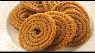 Mullu Murukku/Mullu Thenkuzhal -  Healthy Snack Recipe (How-to) in Tamil
