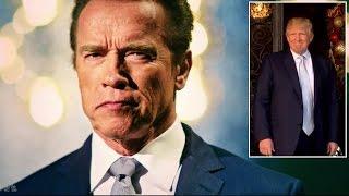 Donald Trump Slams Arnold Schwarzenegger For Apprentice Ratings