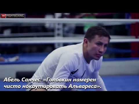 «Головкин намерен чисто нокаутировать Альвареса»,  Абель Санчес Новости бокса