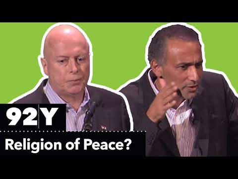 0 Christopher Hitchens and Tariq Ramadan Debate: Is Islam a Religion of Peace?