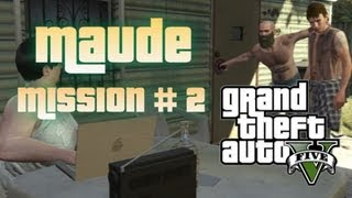 "GTA 5 - Maude Bail Jumper Mission #2 ""Larry Tupper"" Location (Old Barn)"