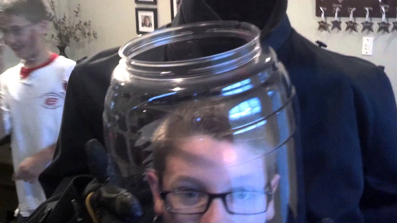 Head In A Jar Halloween Costume