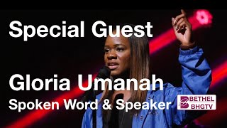 Special Guest - Gloria Umanah - Spoken Word Artist and Speaker