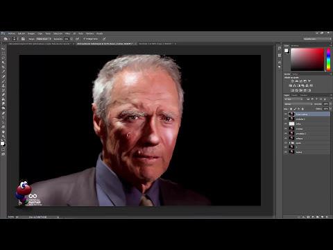 Tutorial Photoshop efecto smudge en retrato by @ildefonsosegura