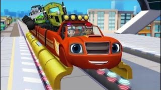 Blaze And The Monster Machines The Mystery Bandit