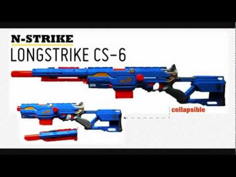 NERF N-Strike Longstrike CS-6 Review [Deutsch/German]