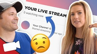 How To Live Stream when No One is Watching
