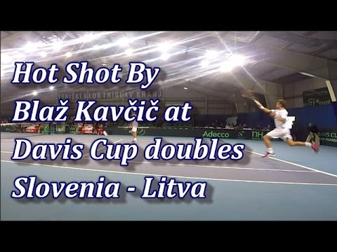 Tennis Hot Shot - Blaž Kavčič