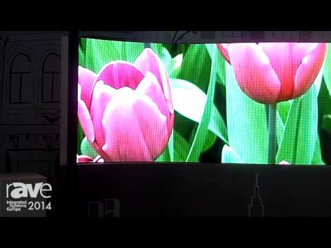 ISE 2014: Optotech Shows Outdoor and Indoor Displays and Curved LD Display
