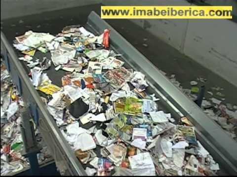Maquinaria para reciclaje de papel y carton