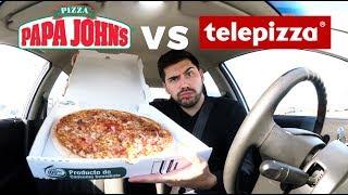 PAPA JOHN'S VS TELEPIZZA   ¿Cuál es tu favorita?   Chile