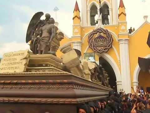 Salida de Procesión de San Felipe de Jesús Viernes Santo 2014