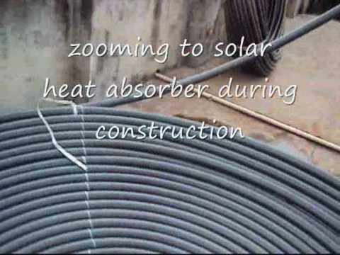 Diy Passive Solar Water Heater Youtube