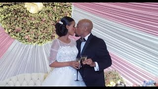 Seifu and Veronica Wedding Ceremony - Watch The Kiss