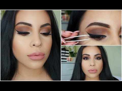 How To Apply False Lashes For Beginners   Quick + Easy   JuicyJas