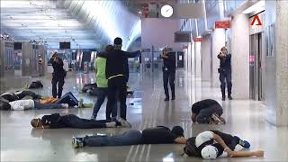 Counter-Terrorism Training: Exercise at Changi AIrport