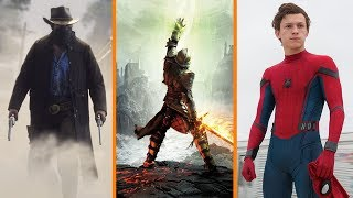 Red Dead Redemption 2 DELAYED + The Next Dragon Age + Spidey Takes on Uncharted - The Know