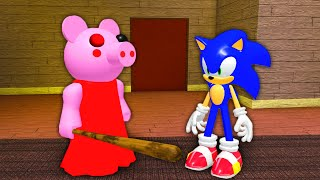 Piggy Meets Sonic (Roblox Animation)