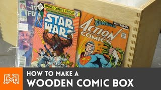 Wooden Comic box // How-To