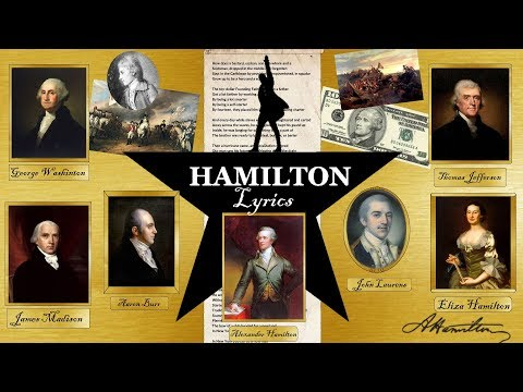 🎵Hamilton: An American al - Alexander Hamilton with  and more😜