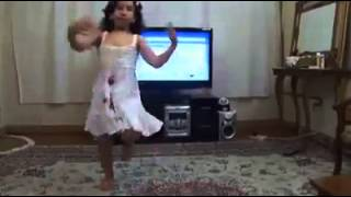 Kitty baby dance on brahvi dhol sound