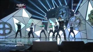 (121130)(HD) TVXQ / DBSK - Humanoids (Comeback Stage)