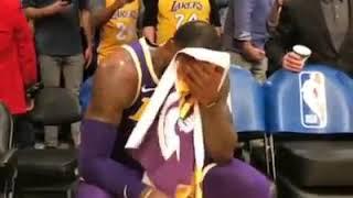 LeBron James napa luha dahil sa kaligayahan