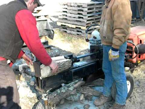 driveable wood splitter