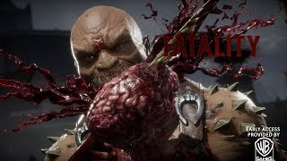 Mortal Kombat 11 - All Fatal Blows and Fatalities [Demo Build]