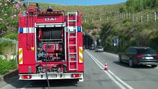 SPERLONGA-Moto si schianta contro auto, flacca in tilt
