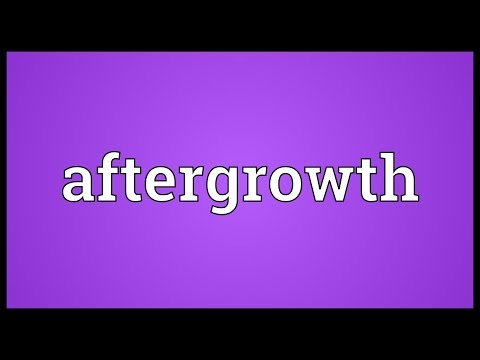 Header of aftergrowth
