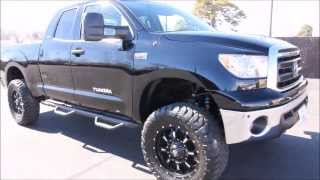 2013 Toyota Tundra Double Cab SR5 TRD Off-Road 5.7L V8 New LIFT TIRES 20in WHEELS - Autos Inc