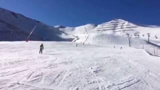 Funny Irish Skiing Crash