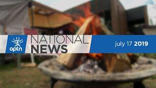 APTN National News July 17, 2019 – Indigenous man dies in WPD custody, Six Nations protest