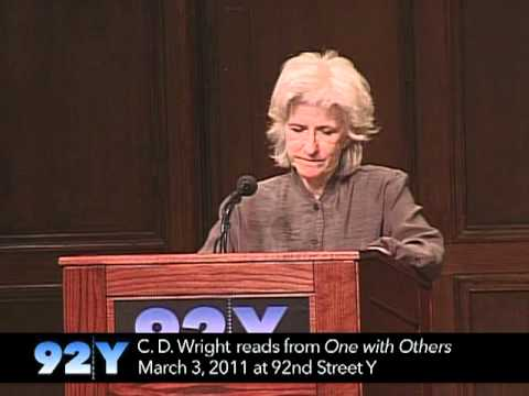 0 C. D. Wright Reads From One With Others at 92nd Street Y