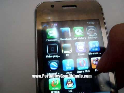 Ciphone F003: Dual Sim. TV et WIFI
