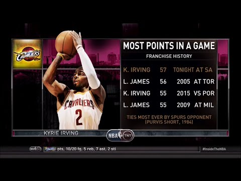 Inside The NBA (on TNT) Full Episode – Kryrie Irving scores 57 vs. Spurs/Shaqtin' 19 - 3/12/15