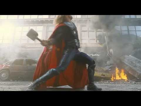 Marvel 「復仇者聯盟」電影預告 The Avengers movie trailer (Official with Chinese subtitle)