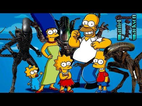 Simpsons and Aliens: Отсылки к фильмам Чужой, Чужие, Чужой 3 в мультсериале Симпсоны [ОБЗОР]