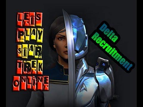 Lets Play Star Trek Online - [Delta Recruitment] Character Creation / Tutorial 1080p 60fps