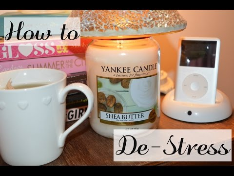 How To De-Stress, Be Happy and Stay Calm | Anxiety tips | Back to School evening routine