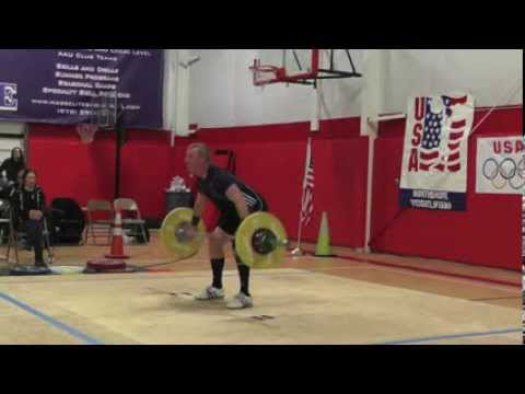 2014 Atlantic States Open Lighter Men Snatch lift Image 1
