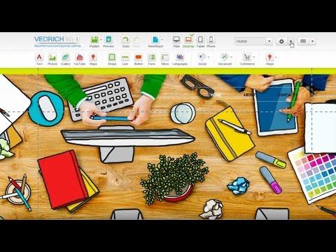 Как создавать потрясающие сайты в конструкторе vedrichweb.ru