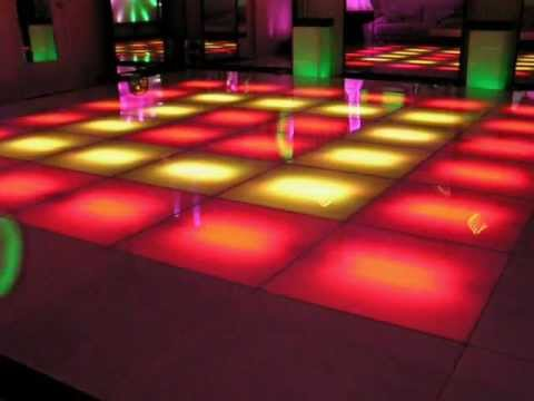 16 ft x16 ft LED Dance Floor