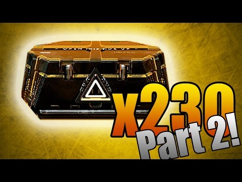 Opening 230 Advanced Supply Drops! (Part 2 - 65 Packages)