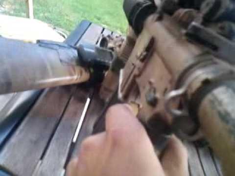 AGM M4 gbb brake down