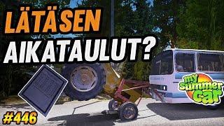 My Summer Car #446 | Lätäsen Aikataulut? | UUSI PÄIVITYS!